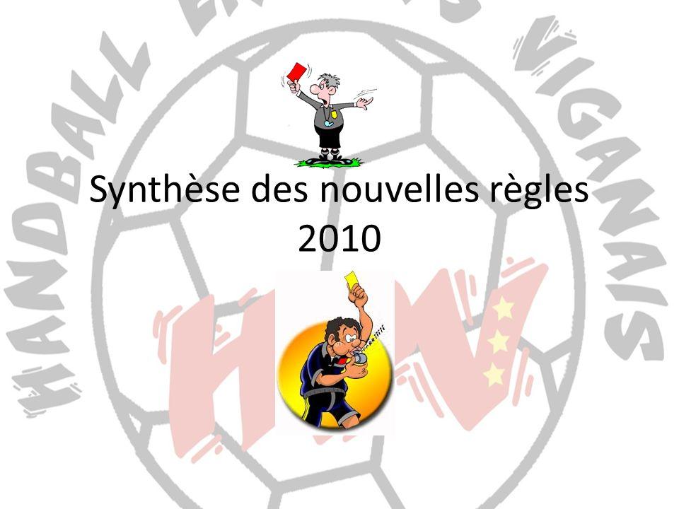 Synthèse des nouvelles règles 2010