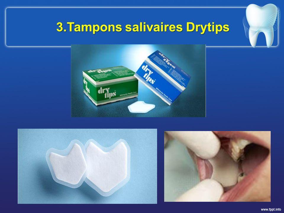 3.Tampons salivaires Drytips