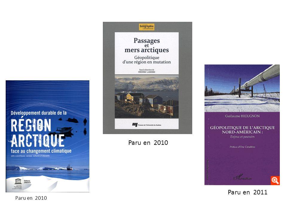 Paru en 2010 Paru en 2011