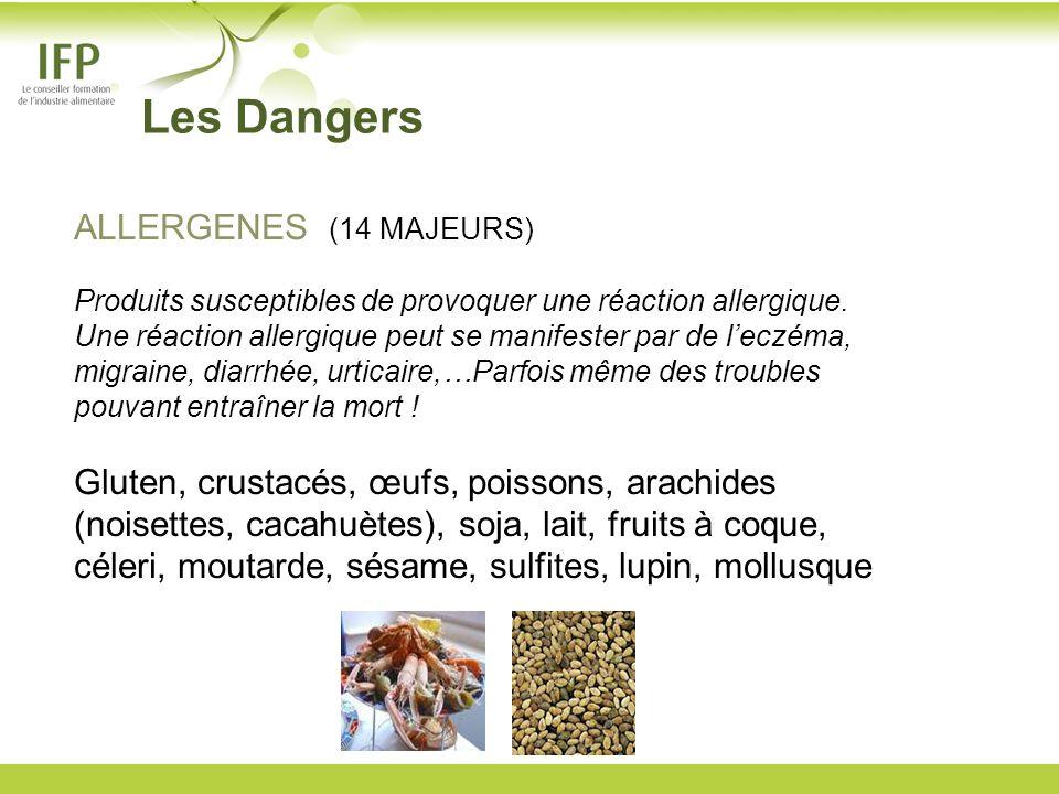 ALLERGENES (14 MAJEURS) Produits susceptibles de provoquer une réaction allergique. Une réaction allergique peut se manifester par de leczéma, migrain