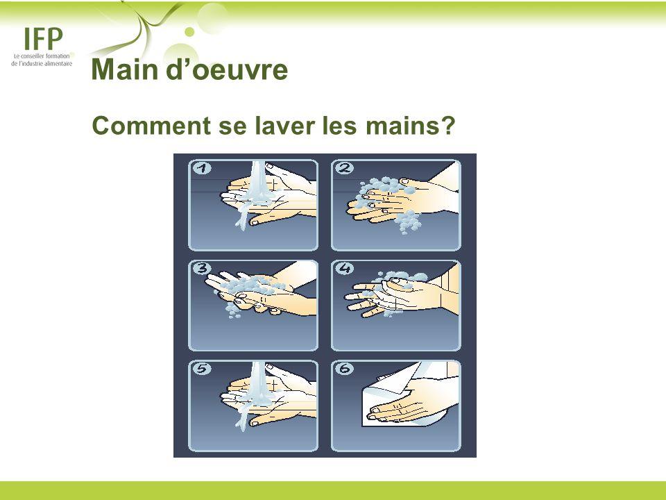 Main doeuvre Comment se laver les mains?