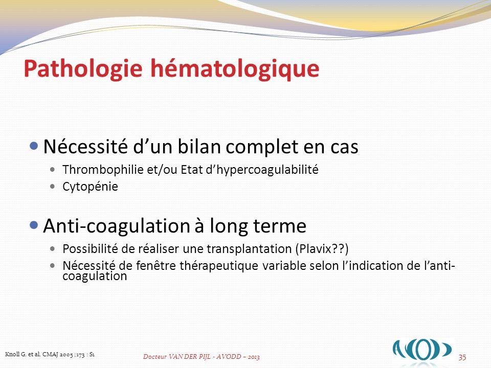 TROUBLES MINERAUX & OSSEUX ASSOCIES AUX MALADIES RENALES CHRONIQUES Evaluation pré-transplantation Calcium Phosphore PTH Ostéodensitométrie 36 Knoll G.