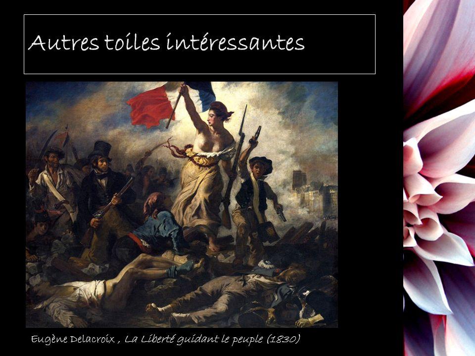 Eugène Delacroix, La Liberté guidant le peuple (1830)