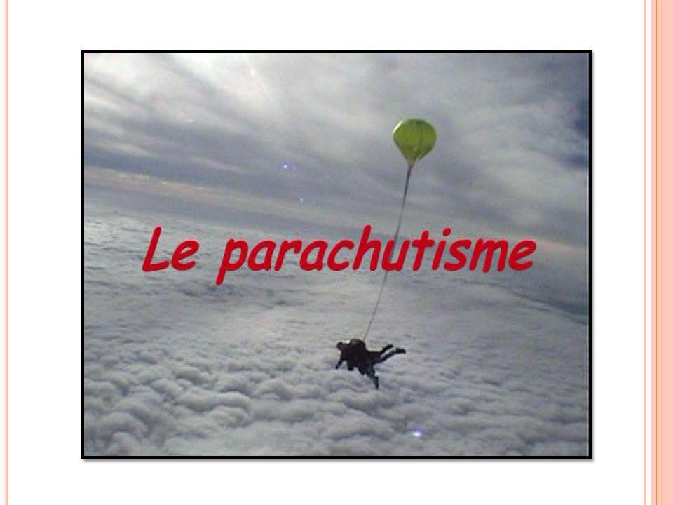 P LAN Le matériel La sortie d avion Louverture La conduite sous voile Les incidents La Procédure De Secours Evaluation
