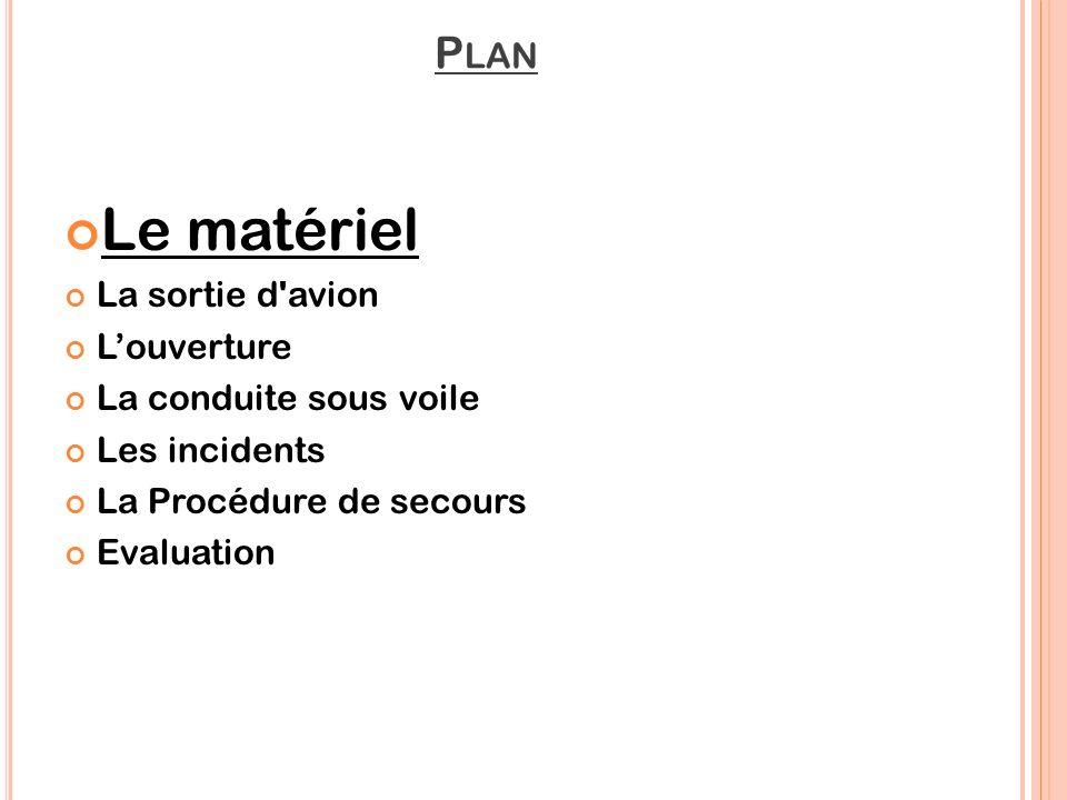 P RÉSENTATION DU MATERIEL Sac harnais Equipement