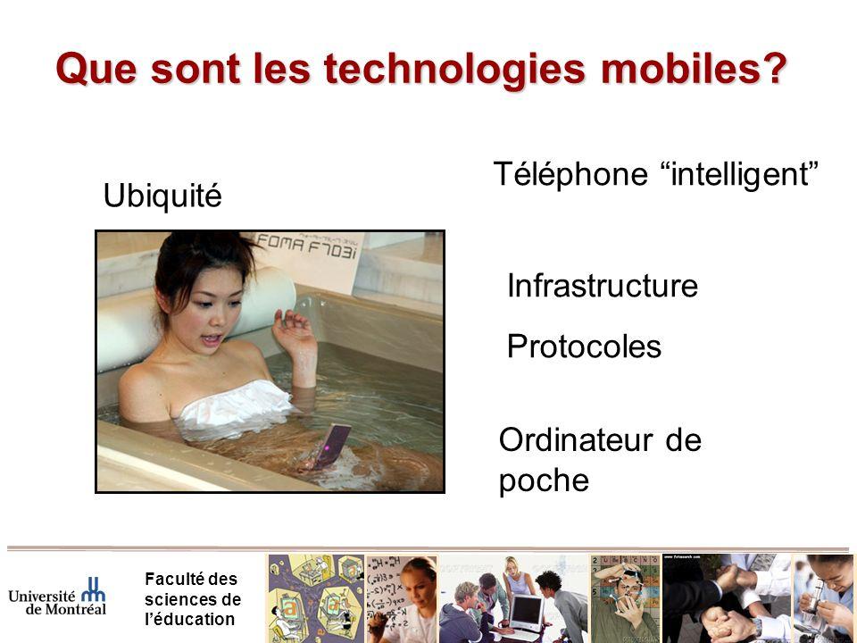 Conclusion Faculté des sciences de léducation M-Learning, à la recherche dune problématique propre au-delà du e-Learning, TIC, CSCW, etc.