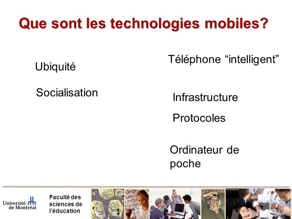 Projets en cours - MobileSIM Faculté des sciences de léducation Apprentissage collaboratif en physique, niveau collégial, avec simulateurs sur technologie mobile Mohamed Droui, étudiant PhD.