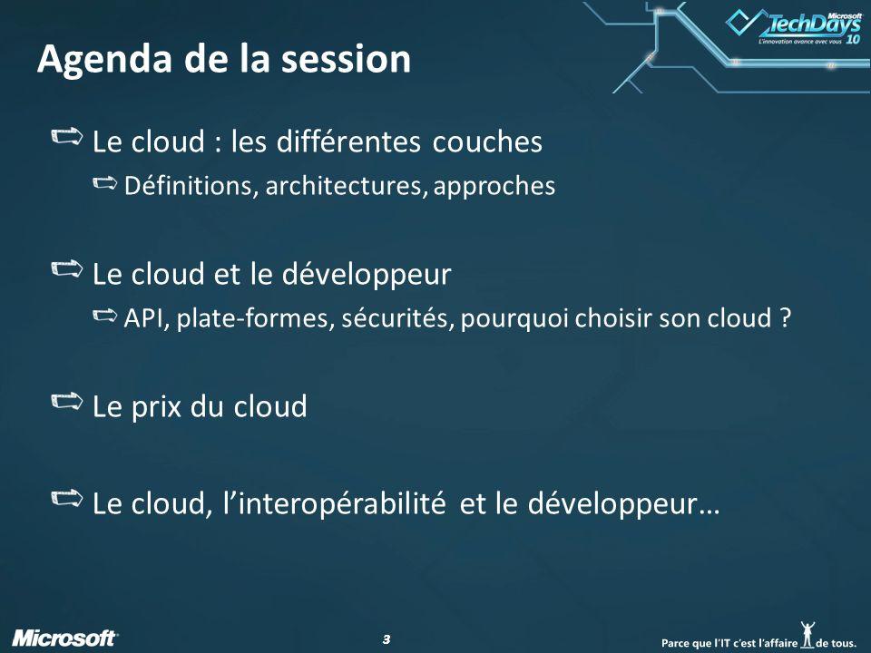 24 Cloud et développeur : suite Attention aux limitations : Azure Storage vs SQL Azure Azure Storage nest pas relationnel, mais assure le stockage de tables, de blob, les services queues.