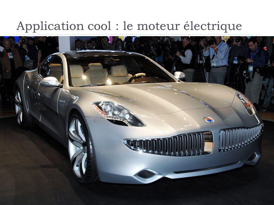Application cool : le moteur électrique