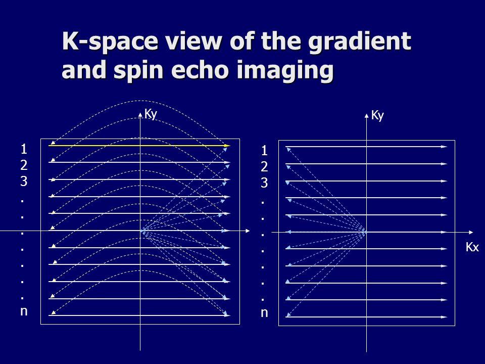 Echo de gradient RF TR TE Tacq = TR x Ny x Nacc TR le plus court possible