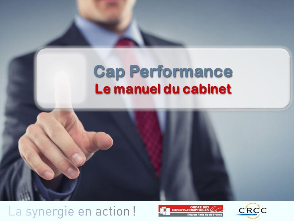 Cap Performance Le manuel du cabinet