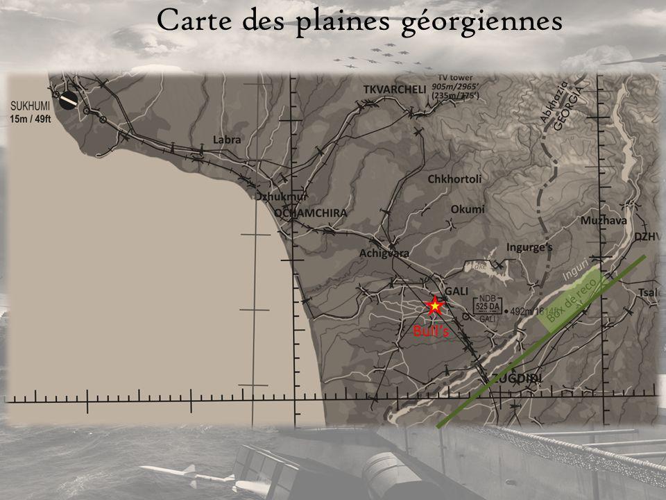 Carte des plaines géorgiennes Bulls Box de reco