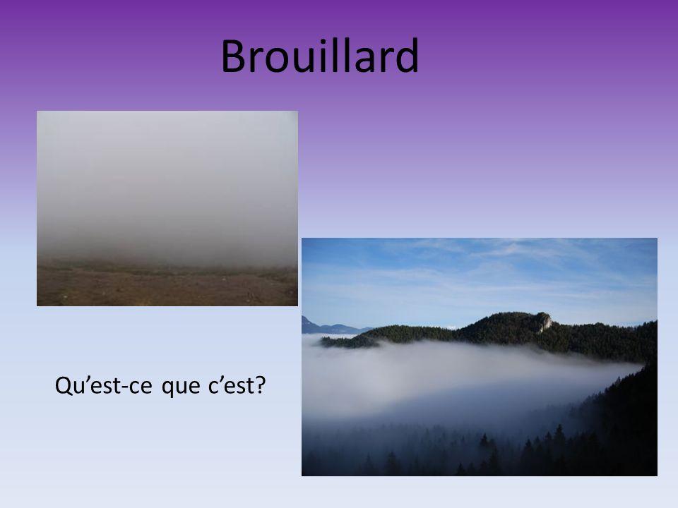 La formation des nuages Quest-ce que cest que le nuage? Pourquoi est-ce que leau dans le nuage ne tombe pas toujours par terre?