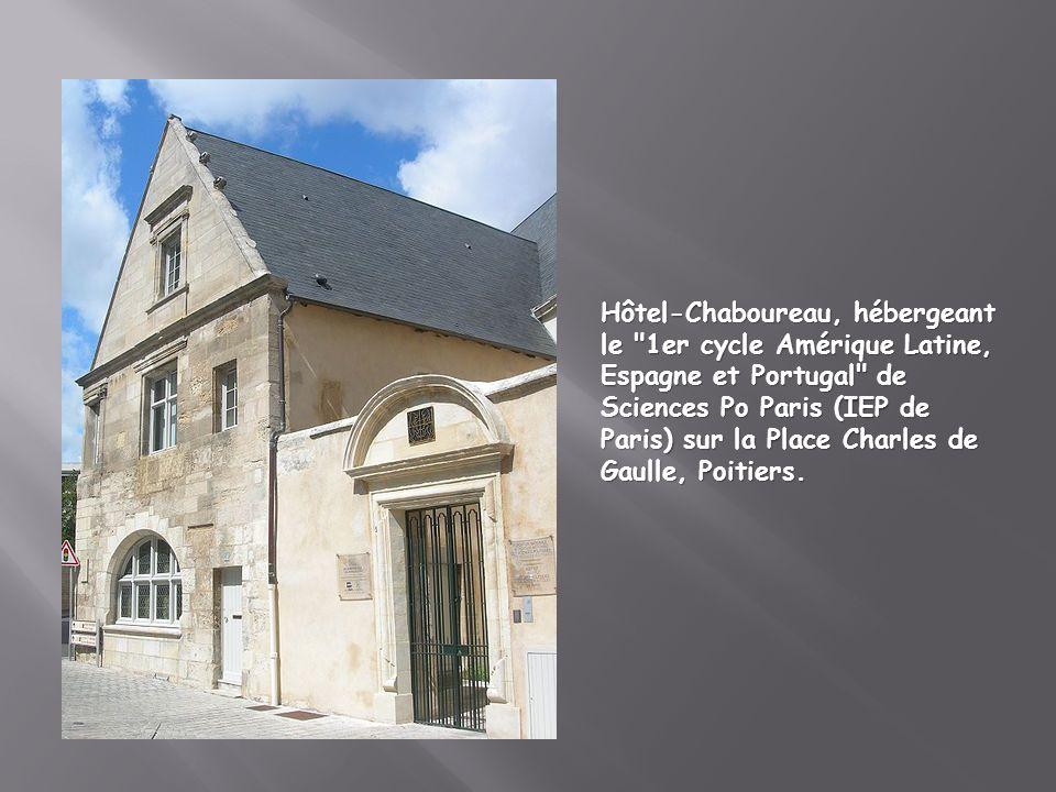Hôtel-Chaboureau, hébergeant le