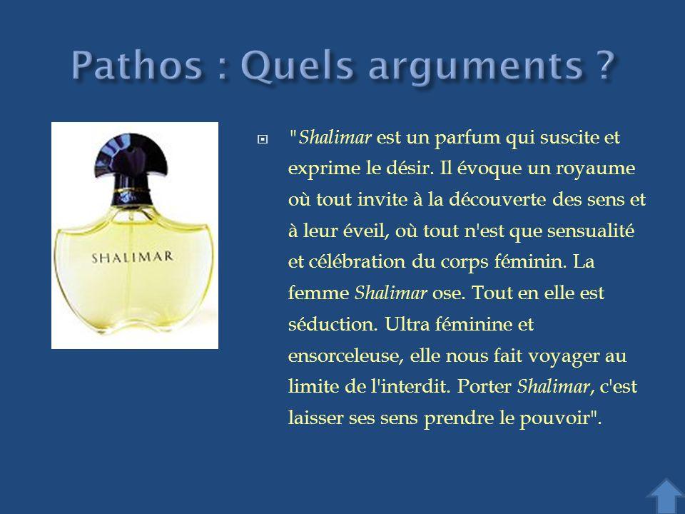 Shalimar est un parfum qui suscite et exprime le désir.
