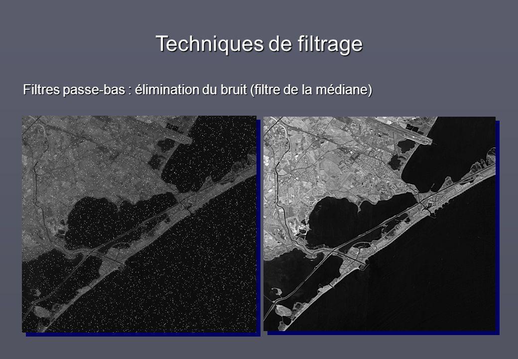 Filtres passe-bas : élimination du bruit (filtre de la médiane)