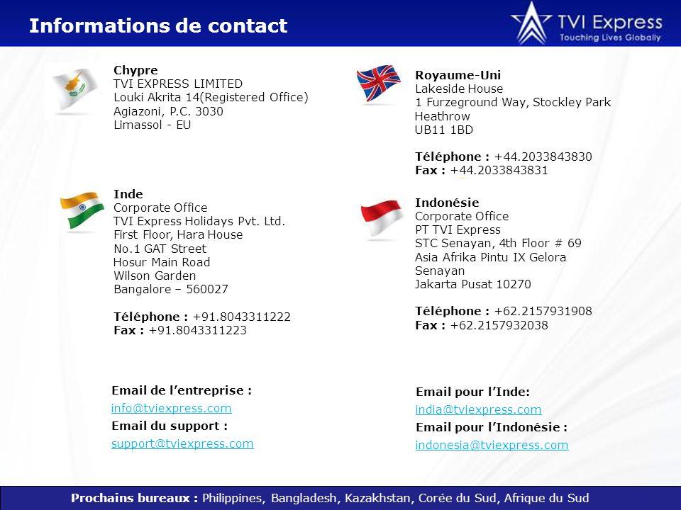 Email de lentreprise : info@tviexpress.com Email du support : support@tviexpress.com info@tviexpress.com support@tviexpress.com Royaume-Uni Lakeside H