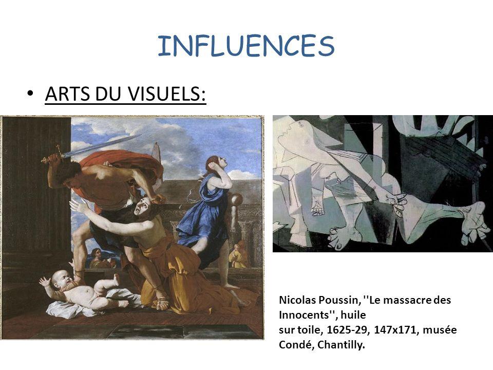 INFLUENCES ARTS DU VISUELS: Nicolas Poussin, ''Le massacre des Innocents'', huile sur toile, 1625-29, 147x171, musée Condé, Chantilly.