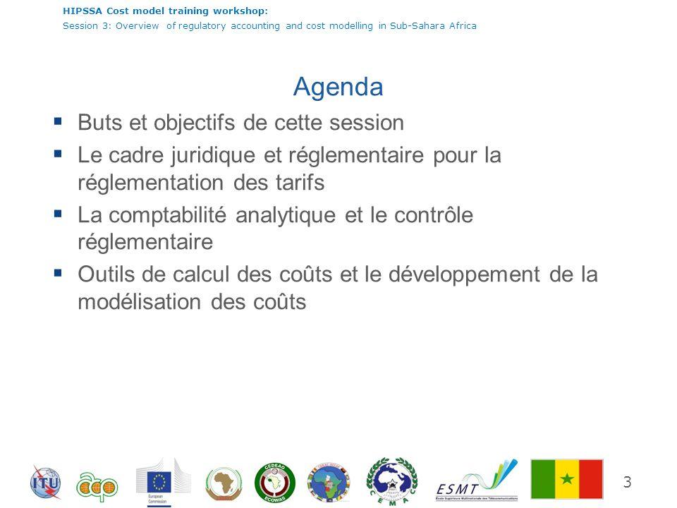 HIPSSA Cost model training workshop: Session 3: Overview of regulatory accounting and cost modelling in Sub-Sahara Africa Méthodologie dallocation des coûts 24 La méthode de répartition CMILT prévaut dans la région.