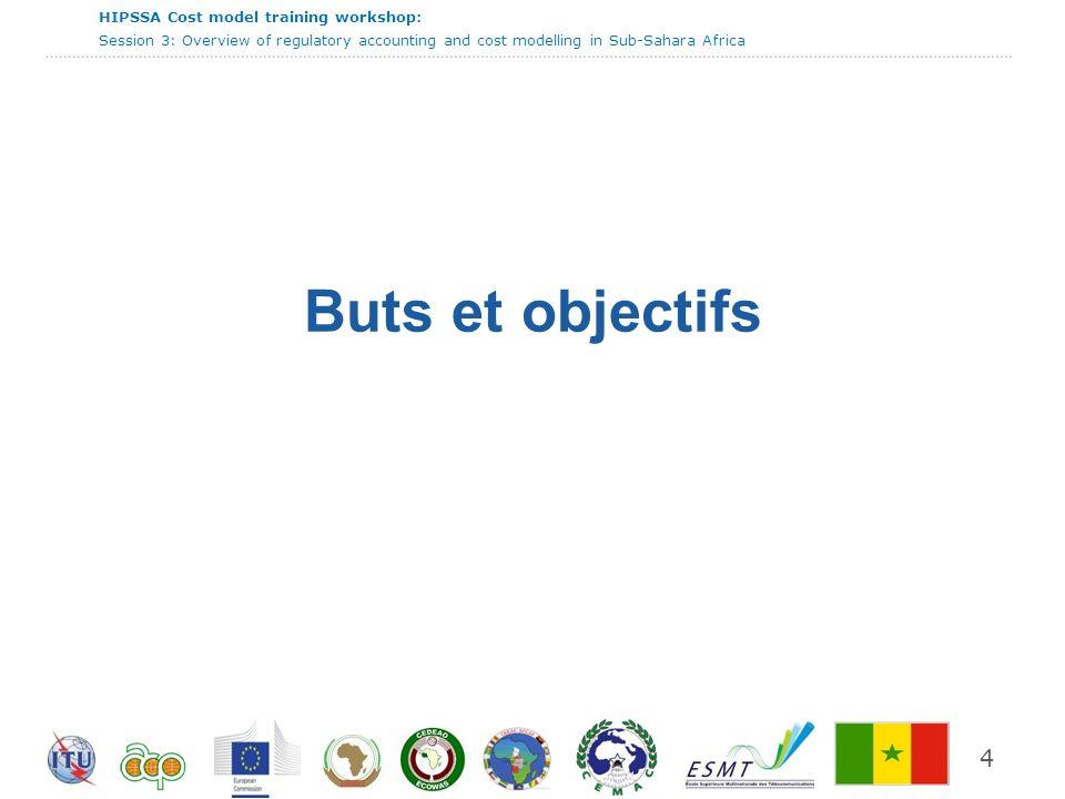 HIPSSA Cost model training workshop: Session 3: Overview of regulatory accounting and cost modelling in Sub-Sahara Africa 25 Taille de l incrément concerné L utilisation de la méthode CMILT implique la définition de l incrément concerné.