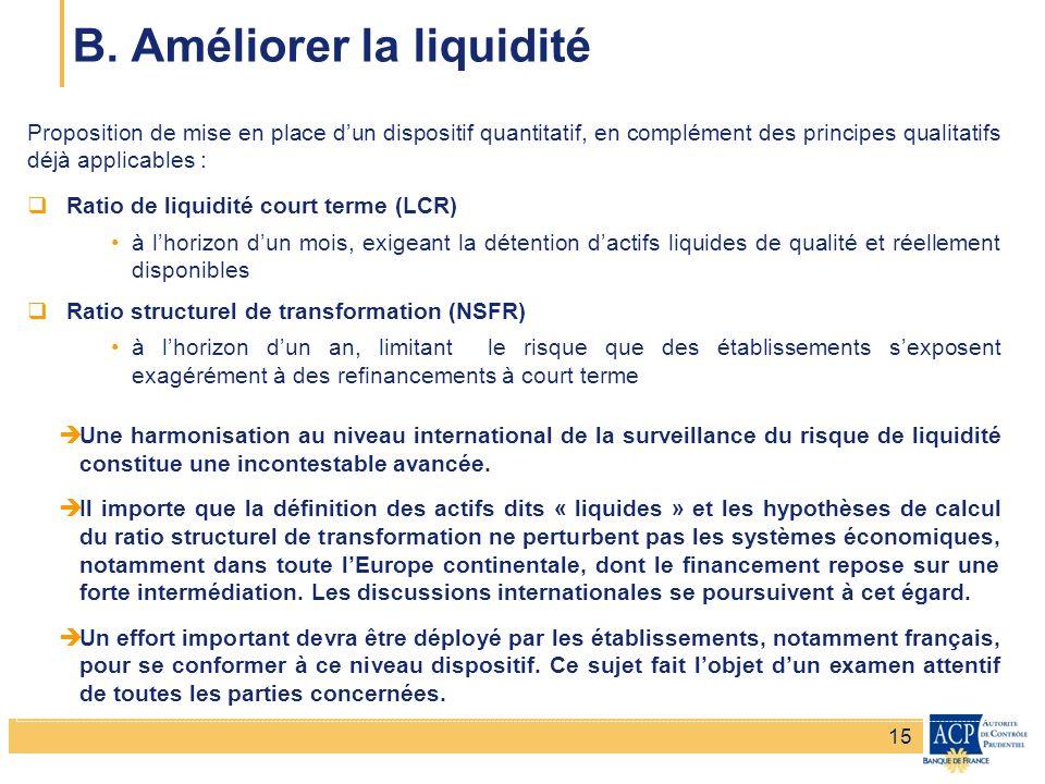 Banque de France – Secrétariat général de la Commission bancaire Banque de France – Autorité de Contrôle Prudentiel Proposition de mise en place dun d