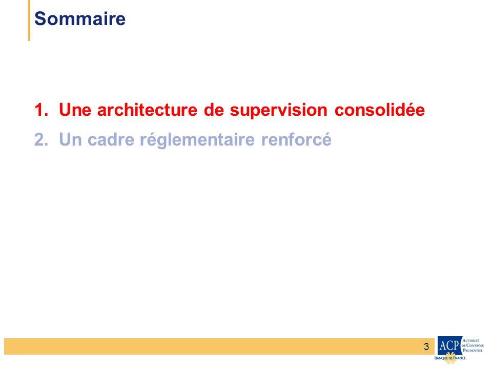 Banque de France – Secrétariat général de la Commission bancaire Banque de France – Autorité de Contrôle Prudentiel Une nouvelle autorité issue de la fusion des 4 autorités de la banque et de lassurance Autorité de Contrôle Prudentiel (ACP) Autorité de Contrôle Prudentiel (ACP) Autorité de contrôle des assurances (ACAM) Autorité de contrôle des assurances (ACAM) Comité des établissements de crédit et des entreprises dinvestissement (CECEI) Comité des entreprises dassurance (CEA) Comité des entreprises dassurance (CEA) Autorités de contrôle Autorités dagrément Commission bancaire (CB) Commission bancaire (CB) 4