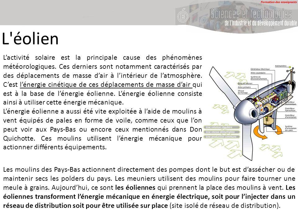 Lactivité solaire est la principale cause des phénomènes météorologiques. Ces derniers sont notamment caractérisés par des déplacements de masse dair