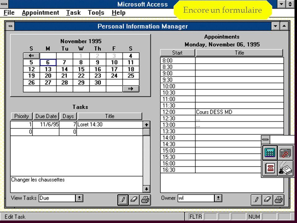 50 Démarrage : MsAccess 2007