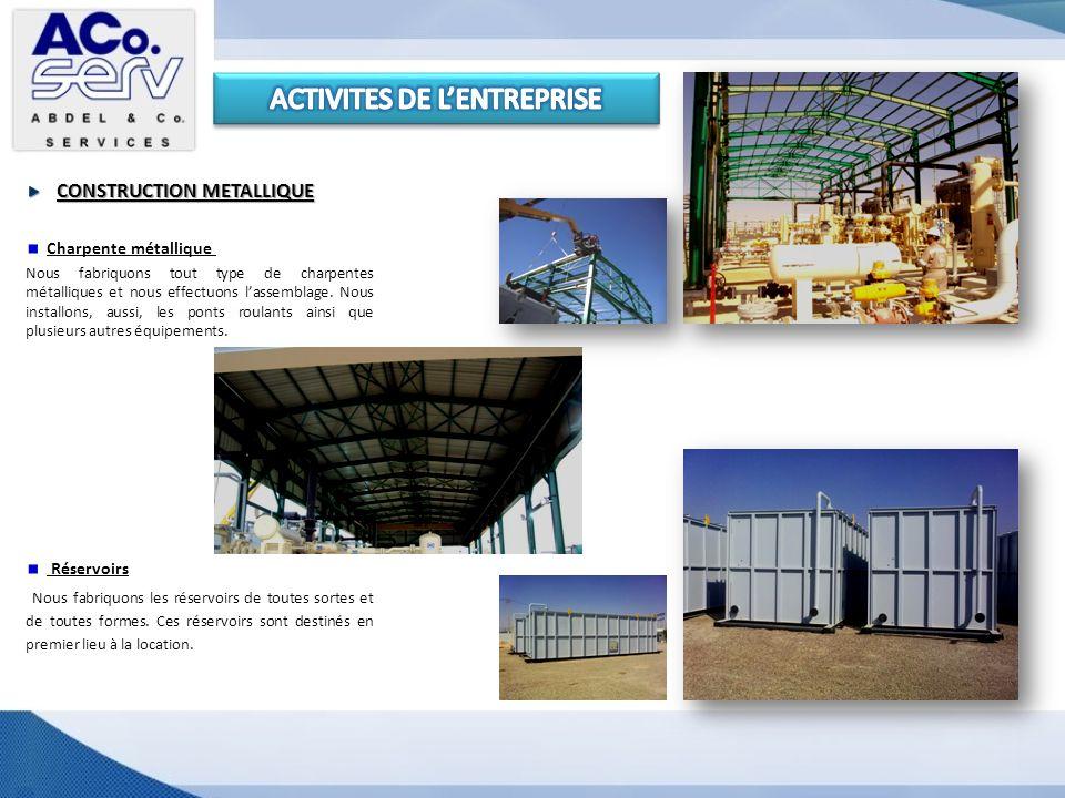 Cabines de chantier Nous assurons la fabrication et la location des cabines de chantier.