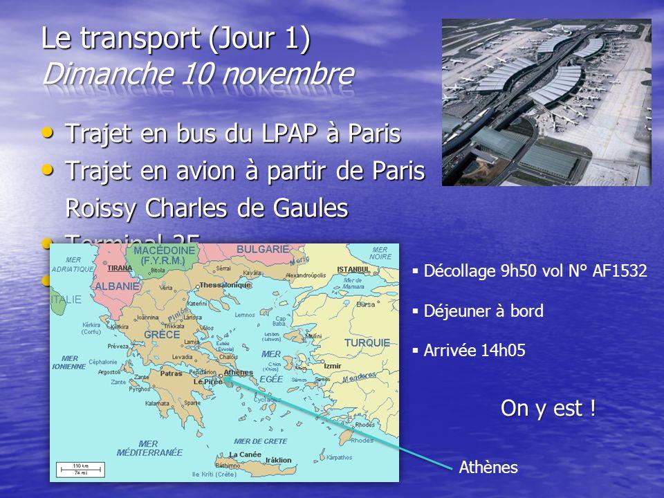 Trajet en bus du LPAP à Paris Trajet en bus du LPAP à Paris Trajet en avion à partir de Paris Trajet en avion à partir de Paris Roissy Charles de Gaul