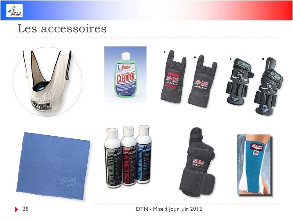 Les accessoires DTN - Mise à jour juin 201228