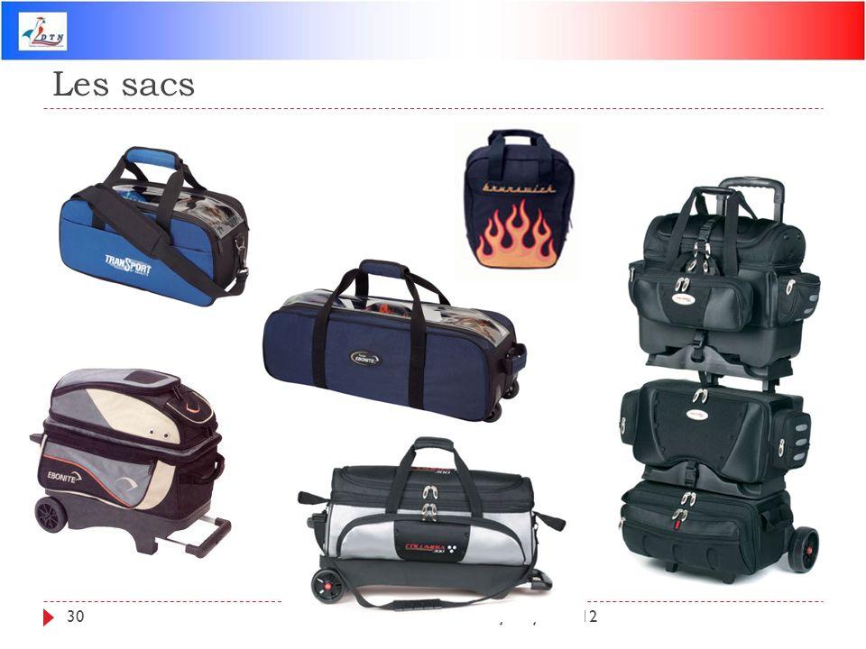 Les sacs DTN - Mise à jour juin 201230