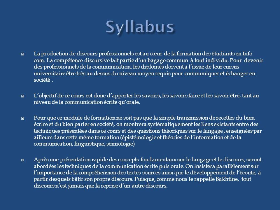 1.Introduction : Concepts fondamentaux 1. Le langage 1.