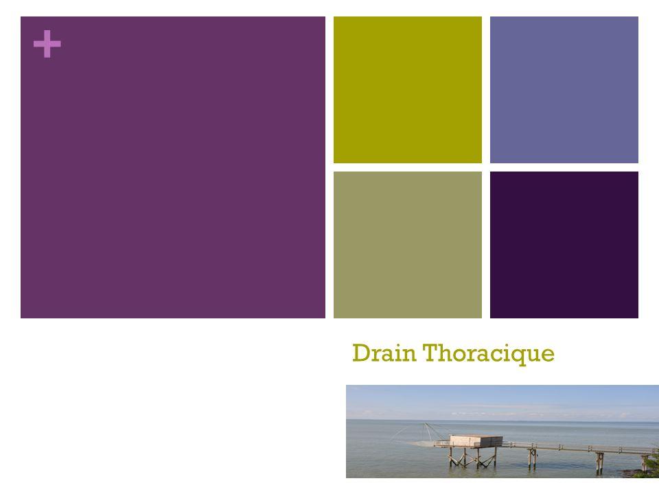 + Drain Thoracique