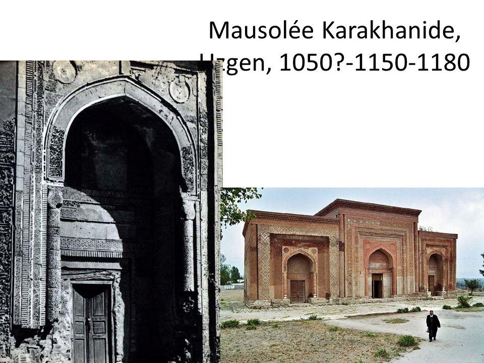 Mausolée Karakhanide, Uzgen, 1050?-1150-1180