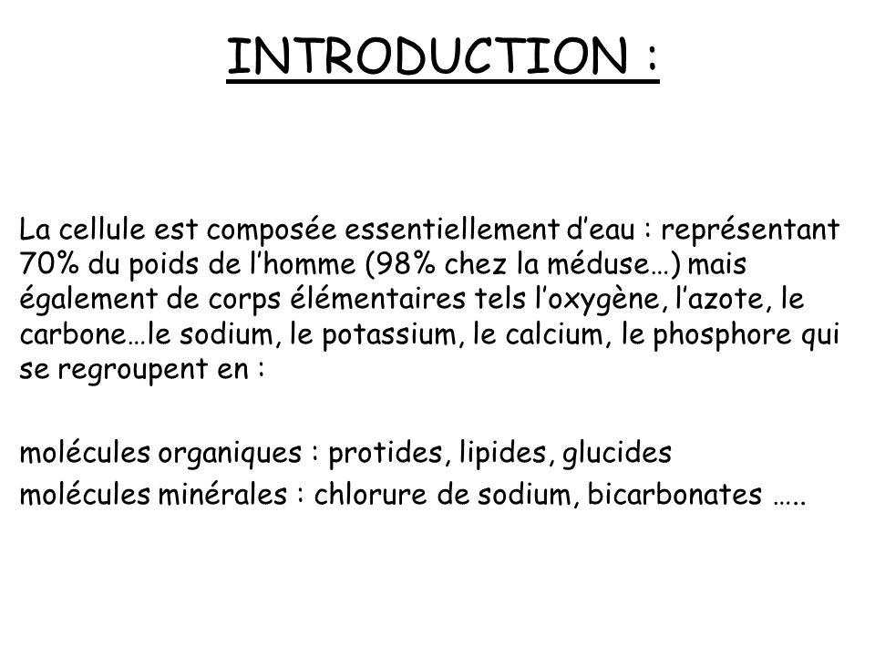 INTRODUCTION : Un organe est un ensemble de tissus différents qui ont le même rôle. Le tissu est lassociation dune multitude de cellules qui concouren