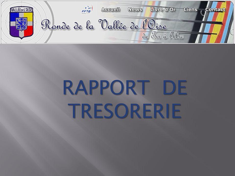 RAPPORT DE TRESORERIE