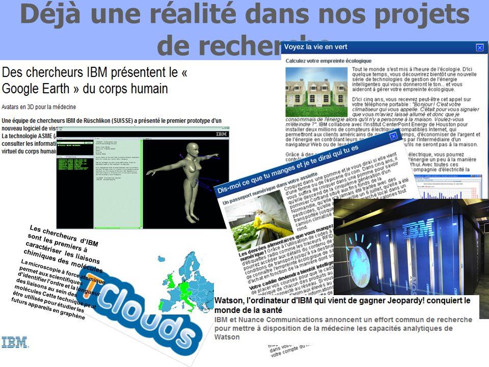 Et la recherche IBM est aujourdhui à Eurocloud Paris Dr.
