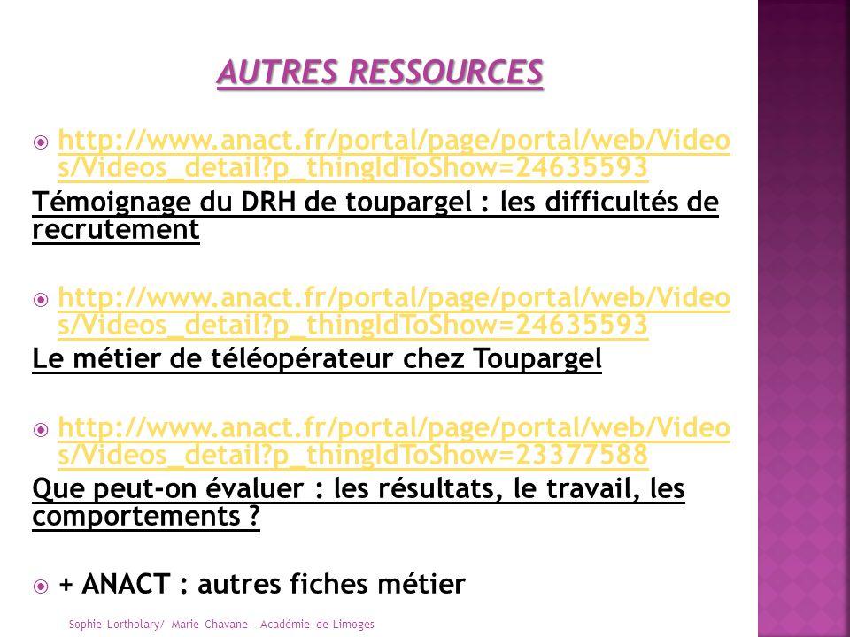 http://www.anact.fr/portal/page/portal/web/Video s/Videos_detail?p_thingIdToShow=24635593 http://www.anact.fr/portal/page/portal/web/Video s/Videos_de
