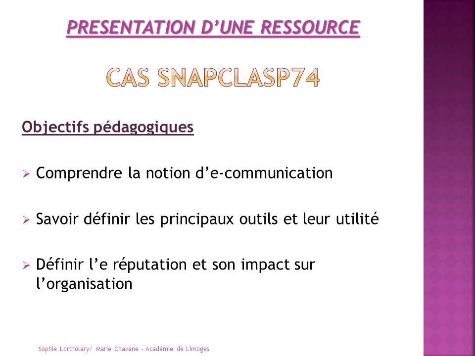 Objectifs pédagogiques Comprendre la notion de-communication Savoir définir les principaux outils et leur utilité Définir le réputation et son impact