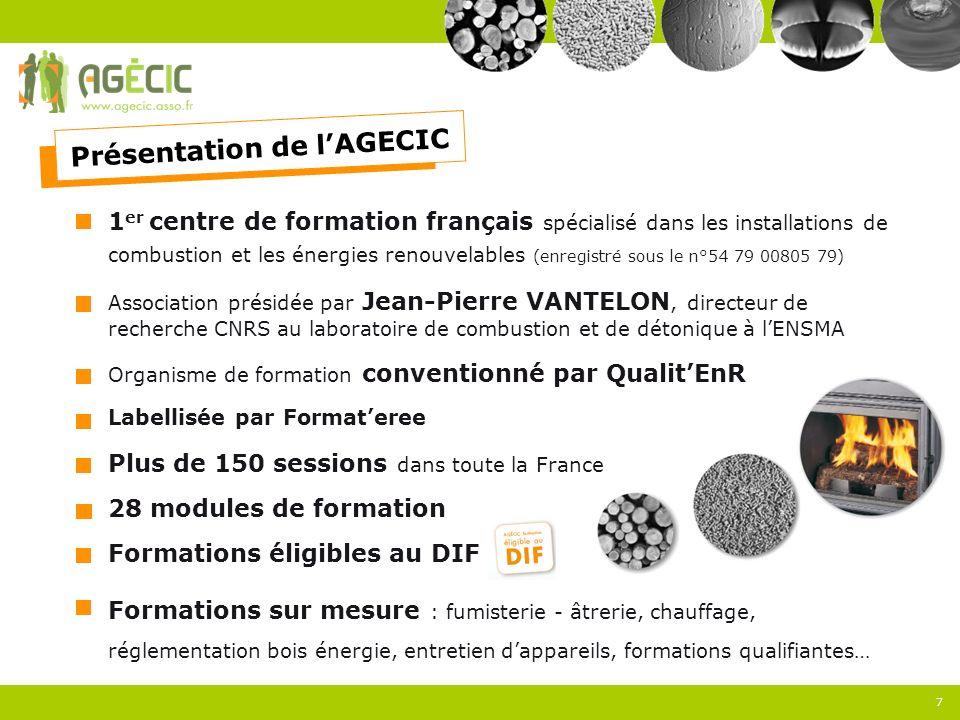 1 er centre de formation français spécialisé dans les installations de combustion et les énergies renouvelables (enregistré sous le n°54 79 00805 79)