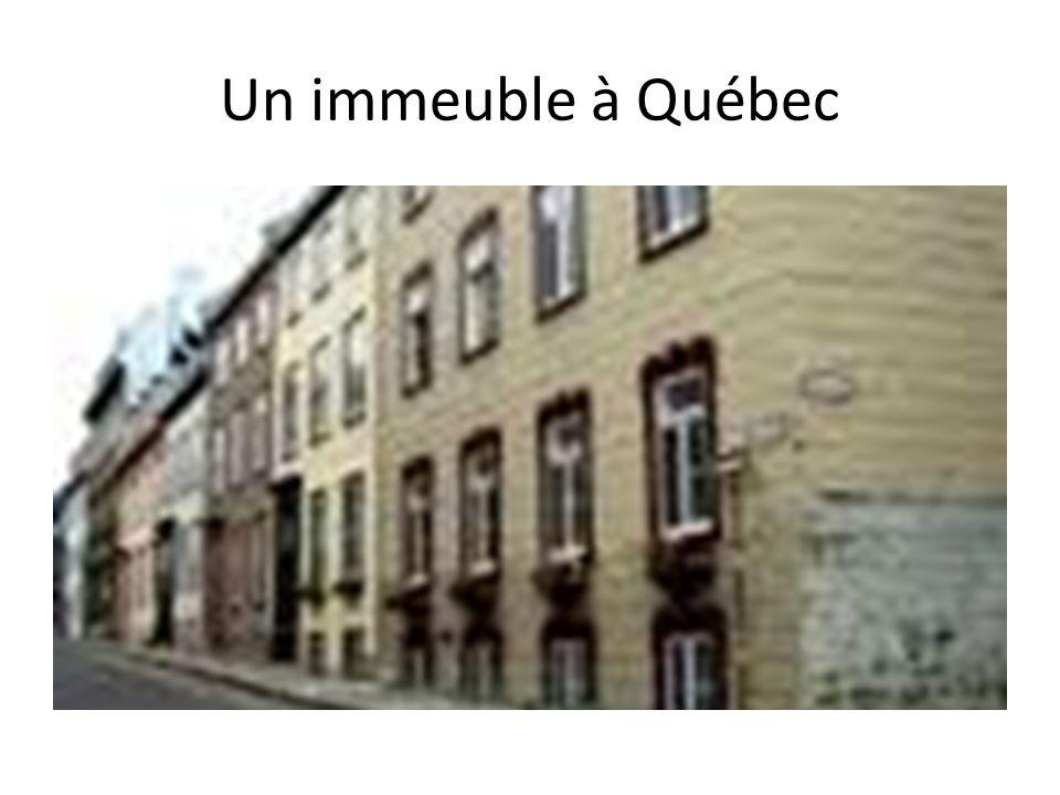 Une maison au Canada