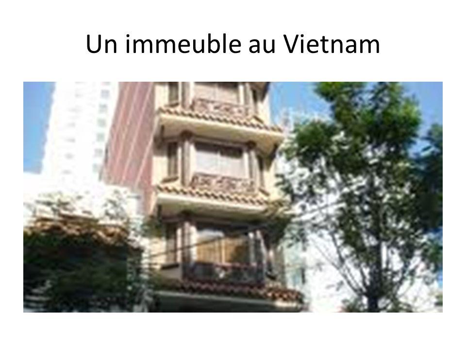 Un immeuble au Vietnam