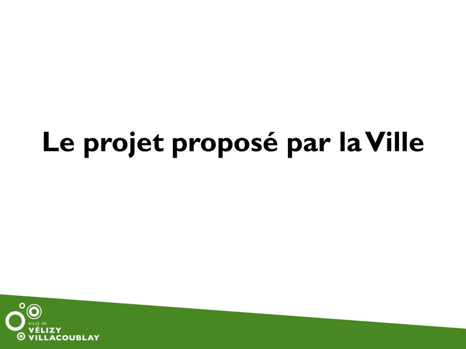 Le projet proposé par la Ville