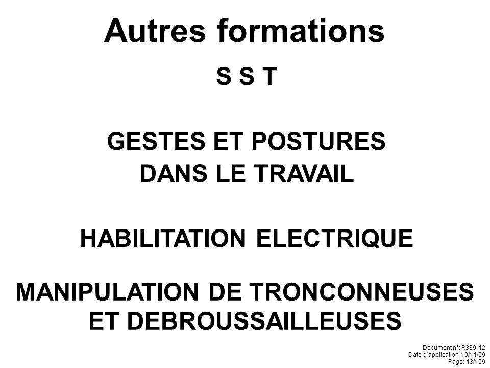 NOS SPECIALITES (suite) Pavages Pierre de taille Limousinerie Maçonnerie pierres à sec Restauration du patrimoine Document n°: R389-12 Date dapplicati