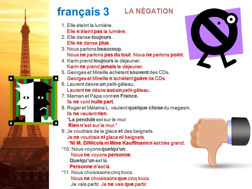 français 5H/6AP Le plus-que-parfait Jai tort ou jai raison!.