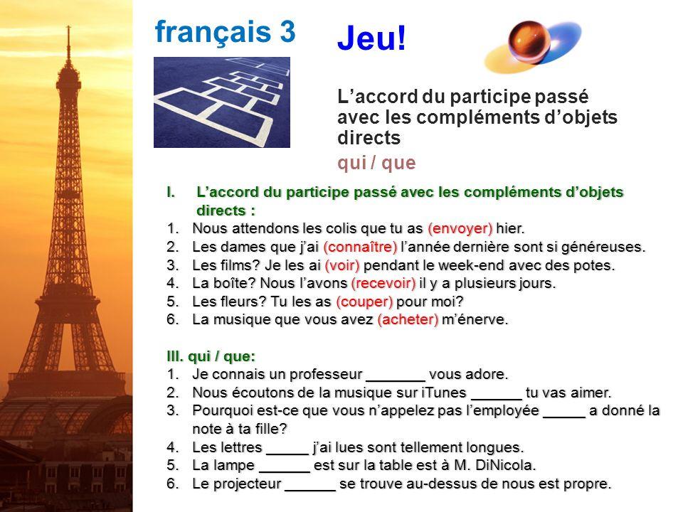 français 3 Jeu.