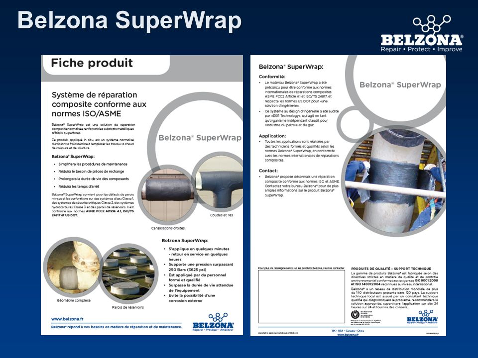 Belzona SuperWrap