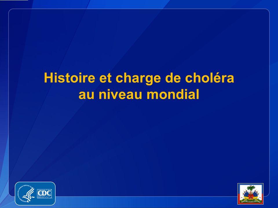 Histoire et charge de choléra au niveau mondial