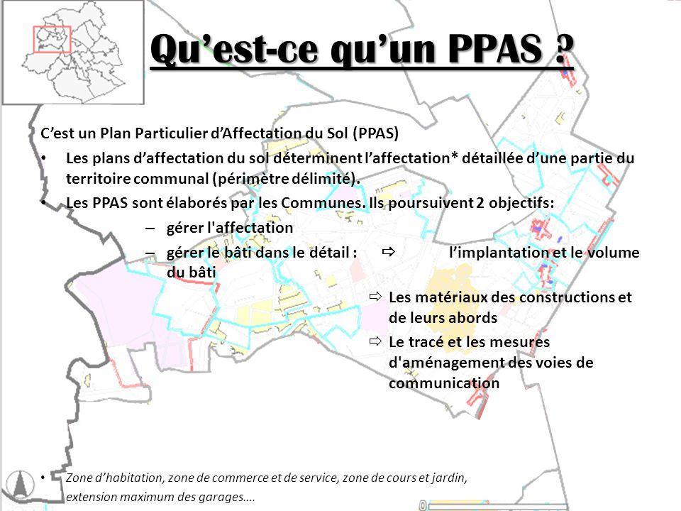 Les PPAS à Molenbeek-St-Jean Révision globale des PPAS fin 2006.